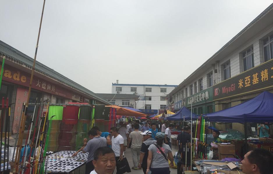 大厂渔具城2015年第五次(第96届)渔具展销会实况图集_图(7)