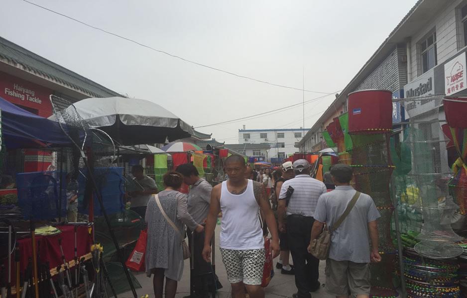 大厂渔具城2015年第五次(第96届)渔具展销会实况图集_图(8)